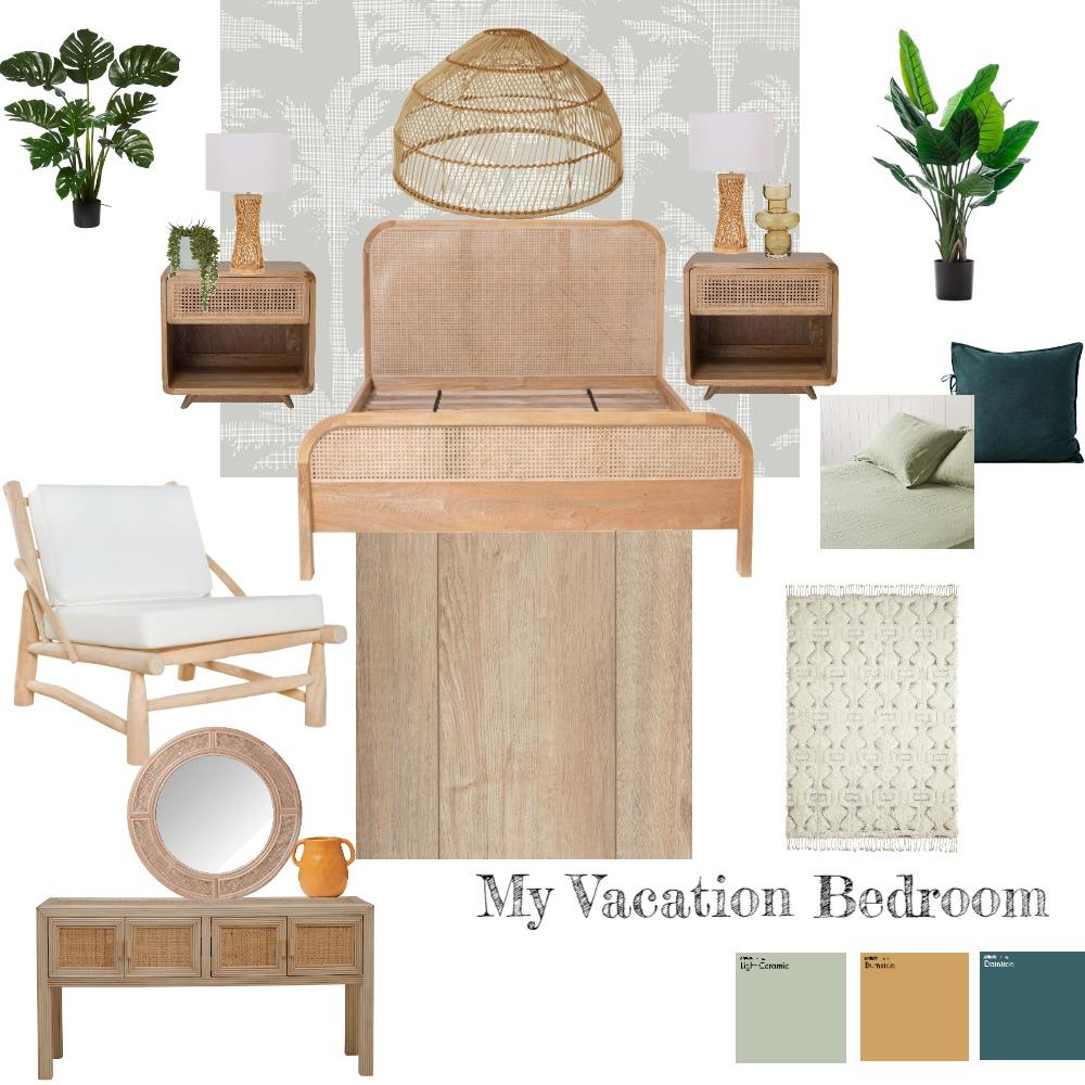 moodboard vacation room